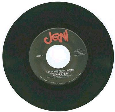 SANDRA FEVA - LOVE CAME RIGHT ON TIME - JERNI