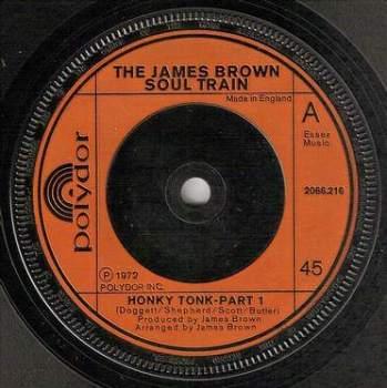 JAMES BROWN - HONKY TONK - POLYDOR