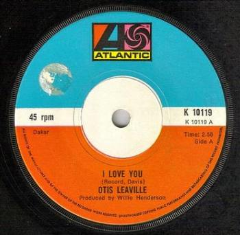 OTIS LEAVILLE - I LOVE YOU - ATLANTIC