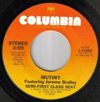 MUTINY - SEMI-FIRST CLASS SEAT - COLUMBIA