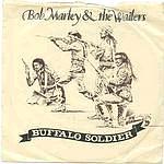 BOB MARLEY - BUFFALO SOLDIER - TUFF GONG P/S
