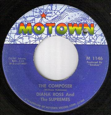 DIANA ROSS / SUPREMES - THE COMPOSER - MOTOWN