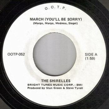 SHIRELLES - MARCH - OOTP