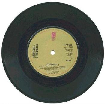 ARCHIE BELL & DRELLS - Let's Groove - PIR