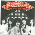 KROKUS - BAD BOYS RAG DOLLS - ARISTA P/S