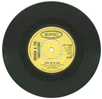 BRENDA & THE TABS - Little Bit Of Love - EPIC UK