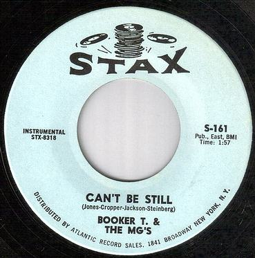 BOOKER T & The MG's - CAN'T BE STILL - STAX