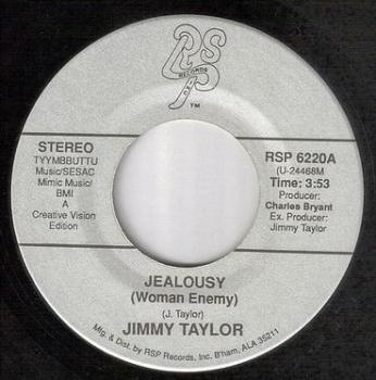 JIMMY TAYLOR - JEALOUSY (Woman Enemy) - RSP