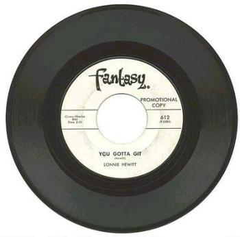 LONNIE HEWITT - You Gotta Git - FANTASY DJ