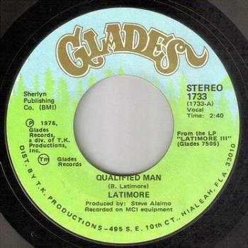 LATIMORE - QUALIFIED MAN - GLADES