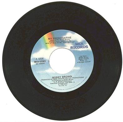 BOBBY BROWN - My Perogative - MCA US