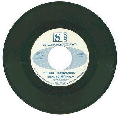 MICKEY MURRAY - Shout Bamalama - SSS
