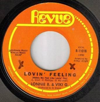 LONNIE B. & VIKI G - LOVIN' FEELING - REVUE