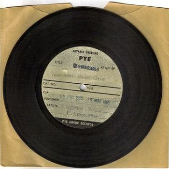 SHARON TANDY - NOW THAT YOU'VE GONE - PYE ACETATE