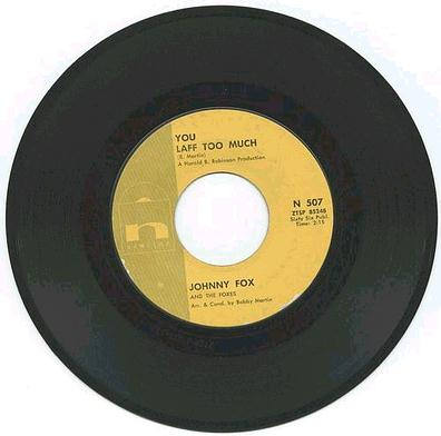 JOHNNY FOX - You Laff Too Much - NEWTIME