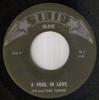 IKE and TINA TURNER - A FOOL IN LOVE - TRIP OLDIE