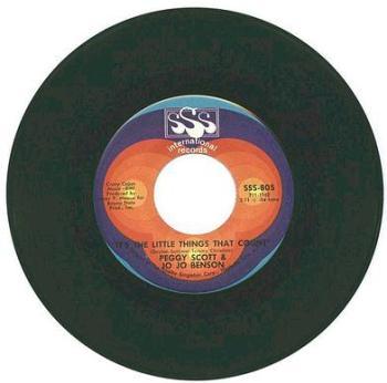 PEGGY SCOTT & JO JO BENSON - It's The Little Things That Count - SSS