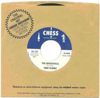 TONY CLARKE - The Entertainer - CHESS blue repro