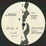 MUSIC & MYSTERY feat GWEN McCRAE - UK SAM PROMO 12""