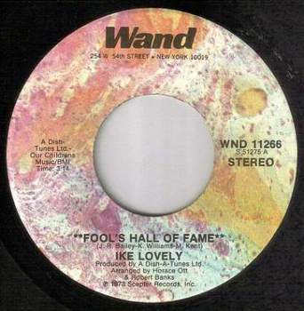 IKE LOVELY - FOOLS HALL OF FAME - WAND