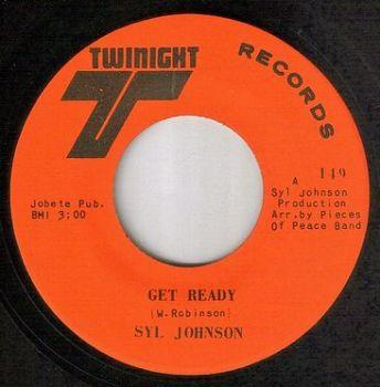 SYL JOHNSON - GET READY - TWINIGHT
