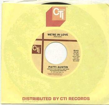 PATTI AUSTIN - We're In Love - CTI