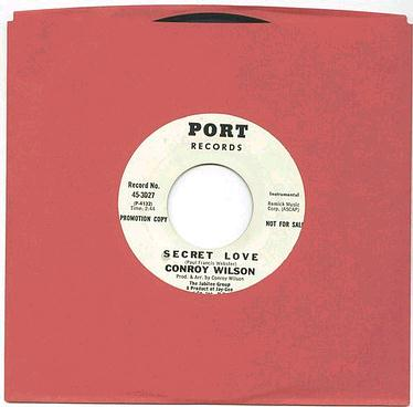 CONROY WILSON - SECRET LOVE - PORT