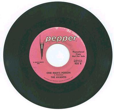 AVANTIS - ONE MANS POISON - PEPPER DJ