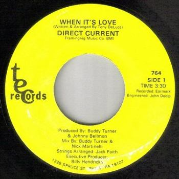 DIRECT DRIVE - WHEN IT'S LOVE - TEC