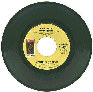 JOHNNIE TAYLOR - I'VE BEEN BORN AGAIN - STAX