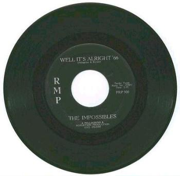 IMPOSSIBLES - WELL IT'S ALRIGHT '66 - RMP