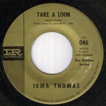 IRMA THOMAS - TAKE A LOOK - IMPERIAL