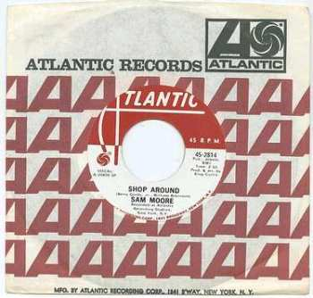 SAM MOORE - SHOP AROUND - ATLANTIC dj