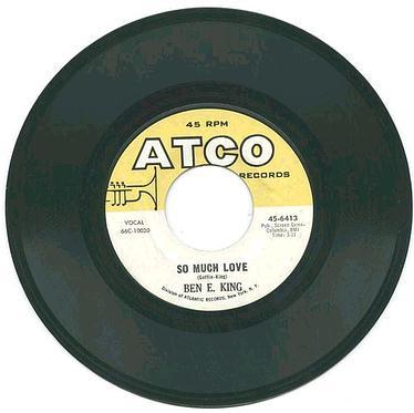 BEN E KING - SO MUCH LOVE - ATCO
