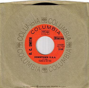 O.C.SMITH - DOWNTOWN U.S.A.. - COLUMBIA