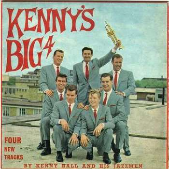 KENNY BALL & JAZZMEN - KENNY'S BIG FOUR - PYE EP
