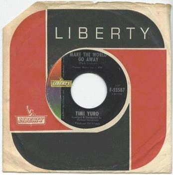 TIMI YURO - Make The World Go Away - LIBERTY