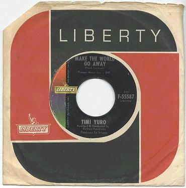 TIMI YURO - Make The World Go Away - LIBERTY