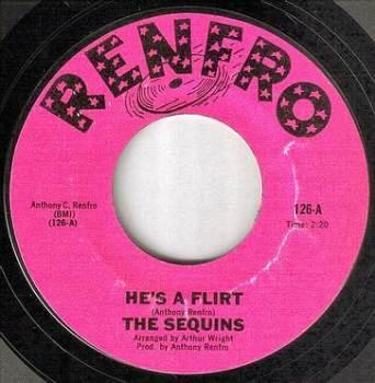 SEQUINS - HE'S A FLIRT - RENFRO