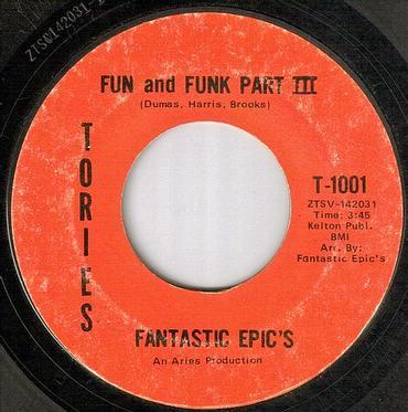 FANTASTIC EPICS - FUN AND FUNK PART II - TORIES