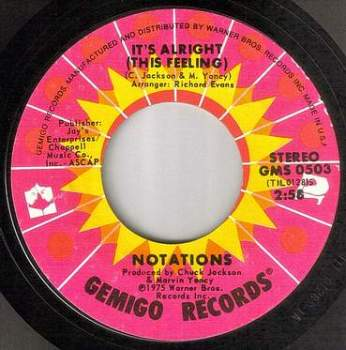 NOTATIONS - IT'S ALRIGHT (THIS FEELING) - GEMIGO