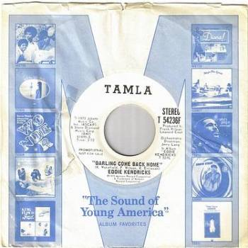 EDDIE KENDRICKS - DARLING COME BACK HOME - TAMLA DEMO