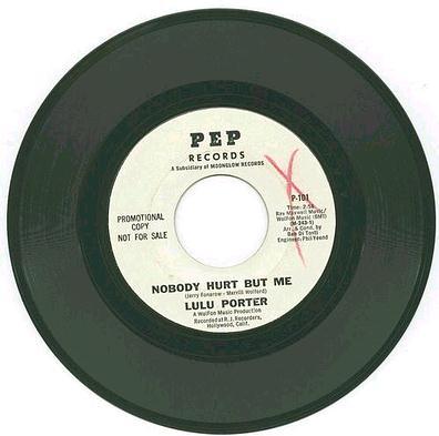 LULU PORTER - Nobody Hurt But Me - PEP dj