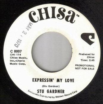 STU GARDNER - EXPRESSIN' MY LOVE - CHISA DEMO