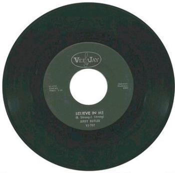 JERRY BUTLER - BELIEVE IN ME - VEE JAY
