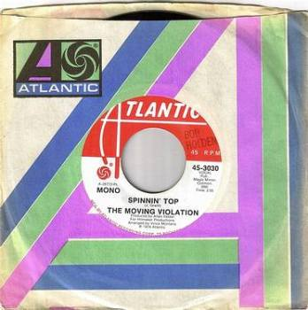 MOVING VIOLATION - SPINNIN' TOP - ATLANTIC DEMO