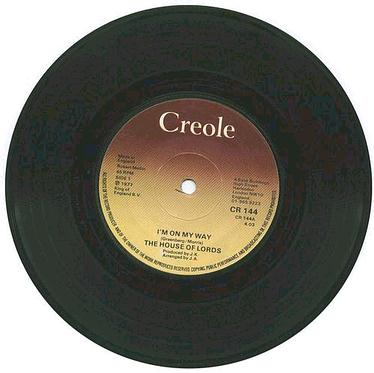 HOUSE OF LORDS - I'm On My Way - UK CREOLE