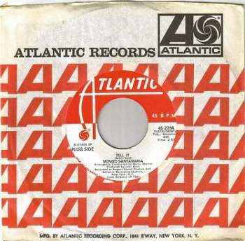 MONGO SANTAMARIA - TELL IT - ATLANTIC DEMO