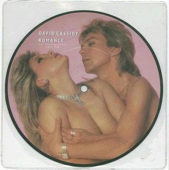"DAVID CASSIDY - ROMANCE - 7"" PIC-DISC"