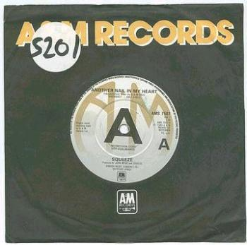 SQUEEZE - Another Nail In My Heart - A&M dj